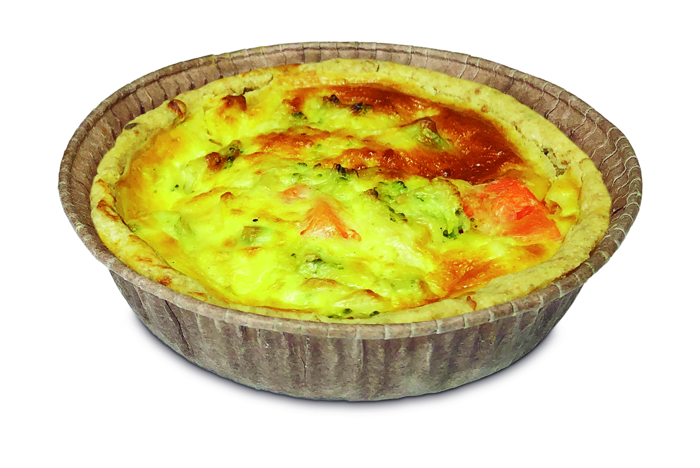 Lanche - Quiches Integral de Legumes