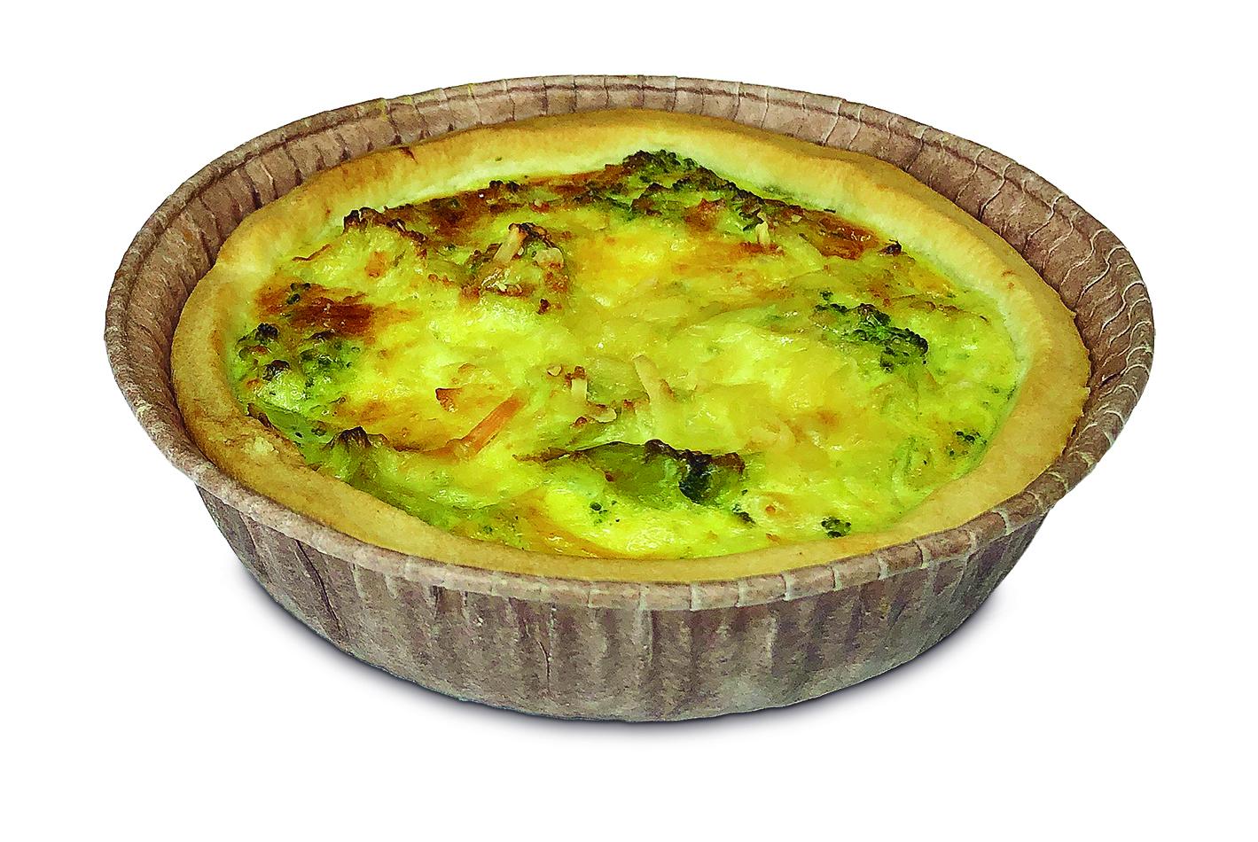 Lanche - Quiches Brócolis