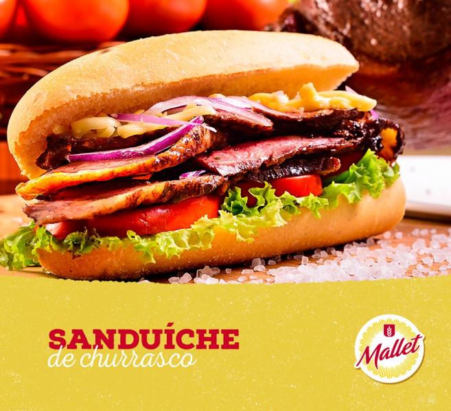 Sanduíche de Churrasco em 19/08/2020